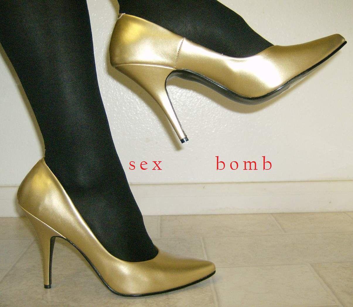Sexy decolte' Gold Tacco 13 13 13 n. 35 schuhe Fashion GLAMOUR 928ec1