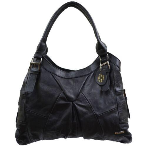 brun beige à foncé Grand brun véritable bandoulière sac noir brun foncé clair fauve femme pour en cuir 75qZUKcqw