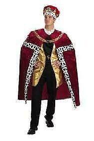 Caballeros-disfraz rey rojo King carnaval cuentos de hadas la edad media revestimiento armiño