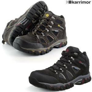 New Ladies Brown Karrimor Bodmin Lightweight Walking//Hiking Boots UK Size