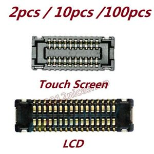 Lot OEM Touch Screen LCD FPC Connector Plug Pin On Board For iPad Mini 1 2 3