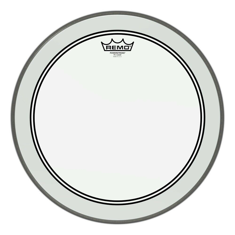 Remo Powerstroke 3, Clear, 16 Diameter, 2-1 2 Impact Patch - Video Demo