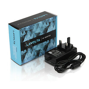 Lavolta Adattatore CA potenza per Angelcare AC401 Deluxe AC1100 ac1120 BABY MONITOR  </span>