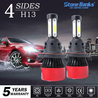 2245W 336750LM CREE 4-Side LED H13 9008 Headlight High//Low Beam Bulb White 6000K