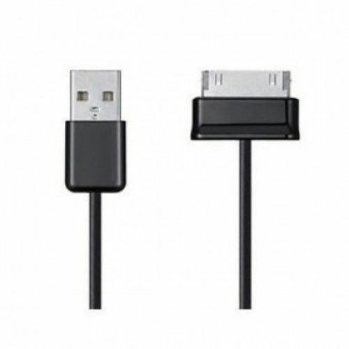 10FT USB TO 30 PIN CABLE CORD DATA CHARGER FOR SAMSUNG GALAXY GT-P3113 BLACK