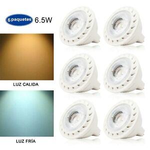 6 Piezas ExtraStar de de Blanco 6 LED Detalles GU10 5W FríoCálido Lámpara FKTJ1c3l