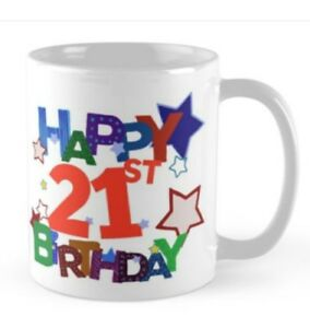 Image Is Loading 21 21st Birthday Small Gift Idea Mug Present