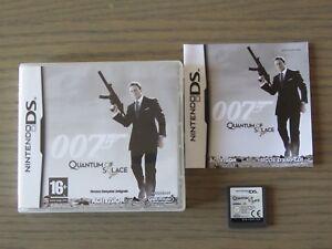 JEU NINTENDO DS 3DS 007 QUANTUM OF SOLACE COMPLET EN FRANCAIS