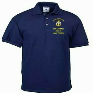 USS-SEMMES-DDG-18-NAVY-ANCHOR-EMBROIDERED-LIGHT-WEIGHT-POLO-SHIRT