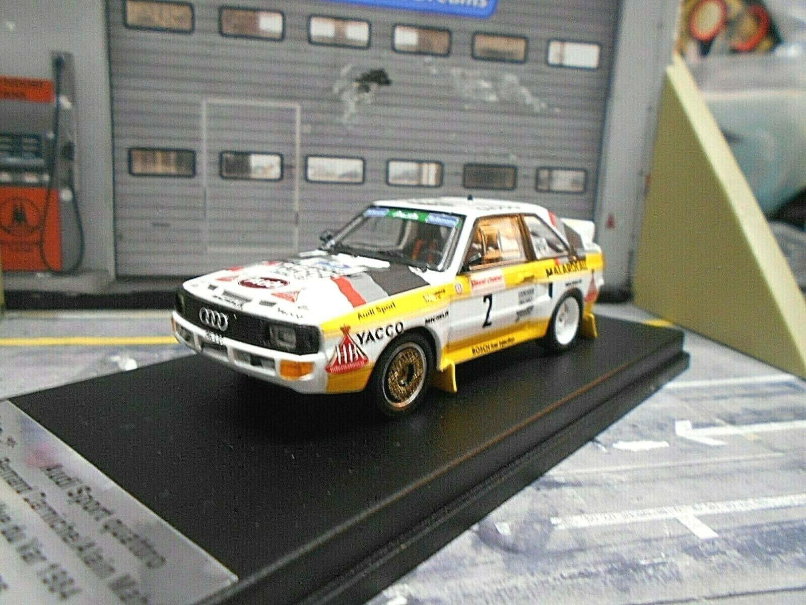 AUDI Sport Quattro S1 Rallye du Var 1984  2 Darniche Yacco H B Trofeu Sc 1 43