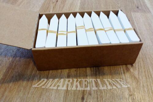"500 4/"" x 5//8/"" Plastic plant stake nursery labels tags pots"