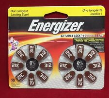 Energizer Size 312 - Hearing Aid Battery AZ312DP-16 EXP 03-2021 !!!! NEW !!!