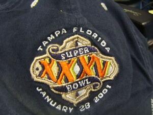 Tampa Bay Bucaneers Super Bowl XXXV 2001 Blue Hat