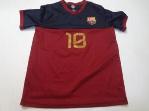 be8a1941b Youth FC Barcelona  10 XL Soccer Futbol Jersey (Maroon) FCB Jersey ...