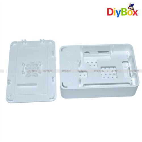 2 /& B+ Premium Raspberry Pi Case White Updated for Raspberry Pi 3 V4