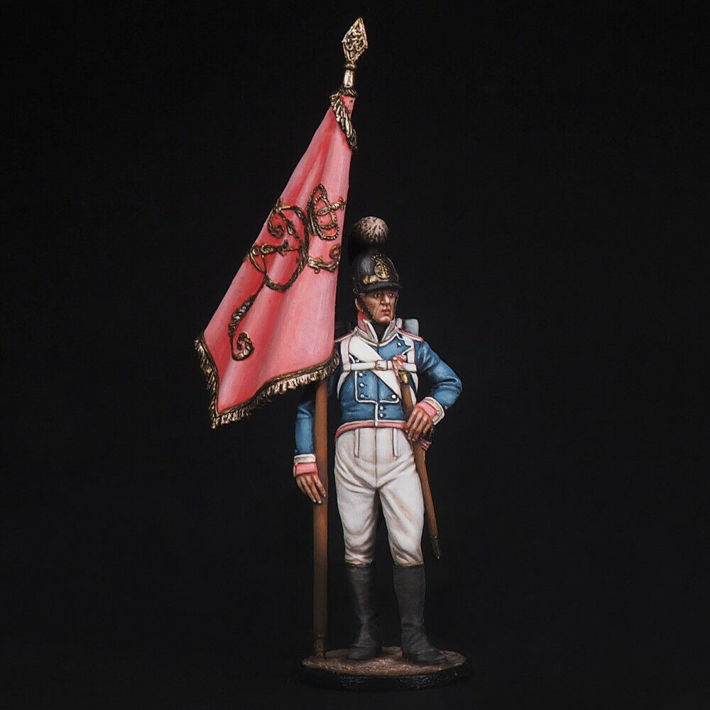 Tin Soldier, Non-commissioned officer, 4th Regiment Württemberg Napoleonic 54 mm