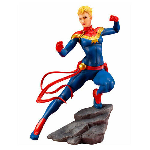 MARVEL - Captain Marvel ArtFX+ 1 10 Pvc Figure Kotobukiya