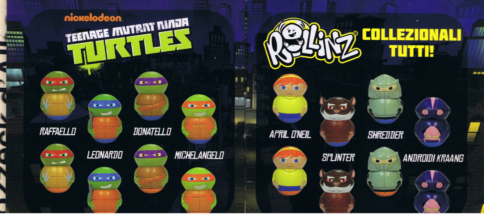 TEENAGE MUTANT NINJA TURTLES rollinz serie completa ED. GEDIS 2016