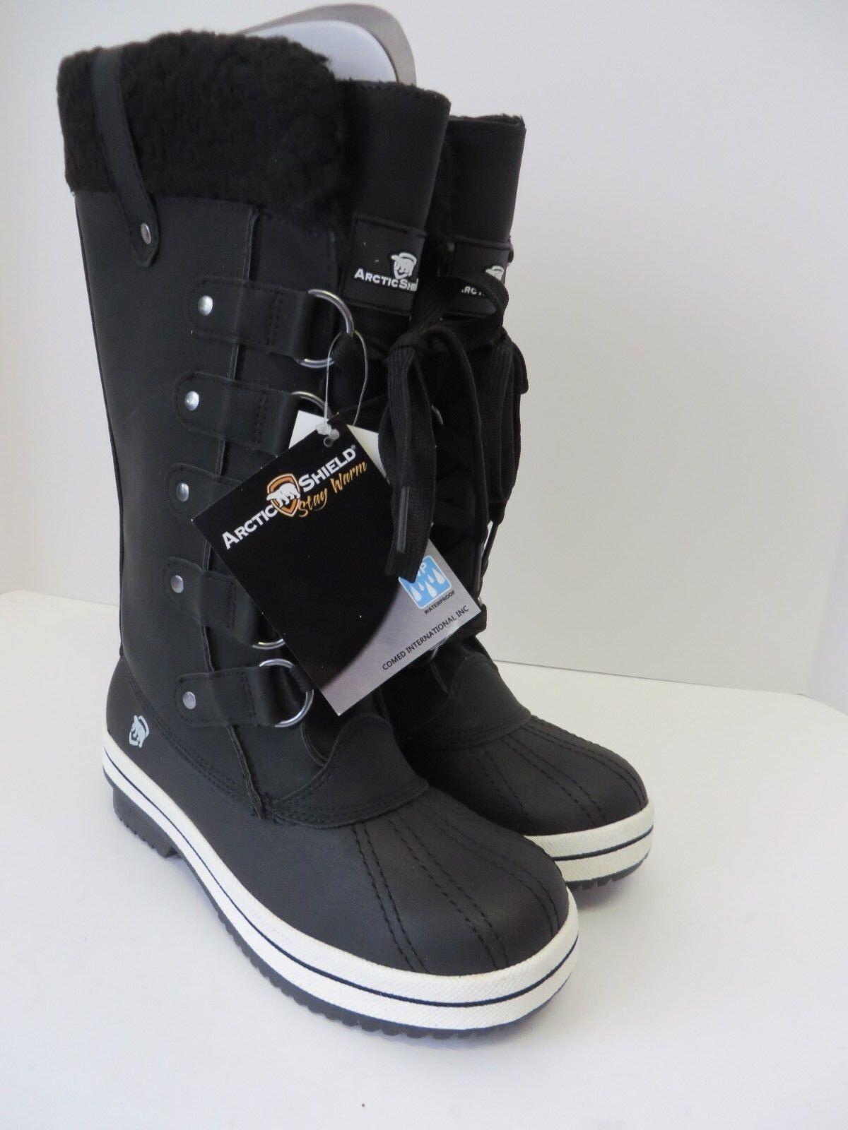 c4ab7676 ARCTIC Shield mujer Snow Aislado Impermeable Negro nuevo para bota  nowgws5548-Botas