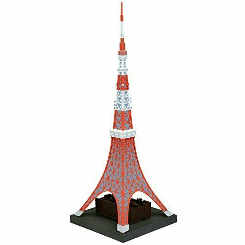 Kaiyodo Soft Vinyl Toy Box Hi-Line 003 Tokyo Tower Figure NEW from Japan