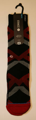 9-13 A021 Stance Socks Blackout NWT L//XL Casual Light Cushion FREE S/&H Details about  /