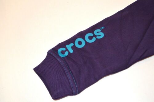 3 /& 4 Crocs Girls Hoodies SIZES PURPLE NEW
