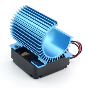 Hobbywing-EZRUN-Motor-Combo-C1Heat-Sink-5V-Fan-2S-for-1-8-RC-Car-Brushless-Motor