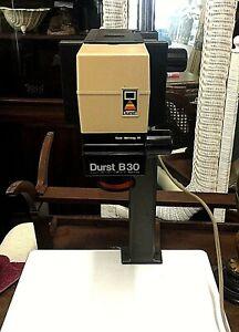 Details about Vintage Photograph Enlarger Table Durst Metrineg 35 Durst B30