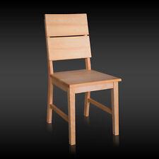 1x Stuhl SERGENT Kernbuche Buche Massivholz Stühle Küchenstuhl Wohnzimmersthul