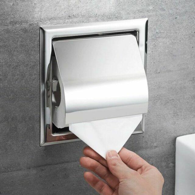 Toilet Paper Holder Stainless Steel