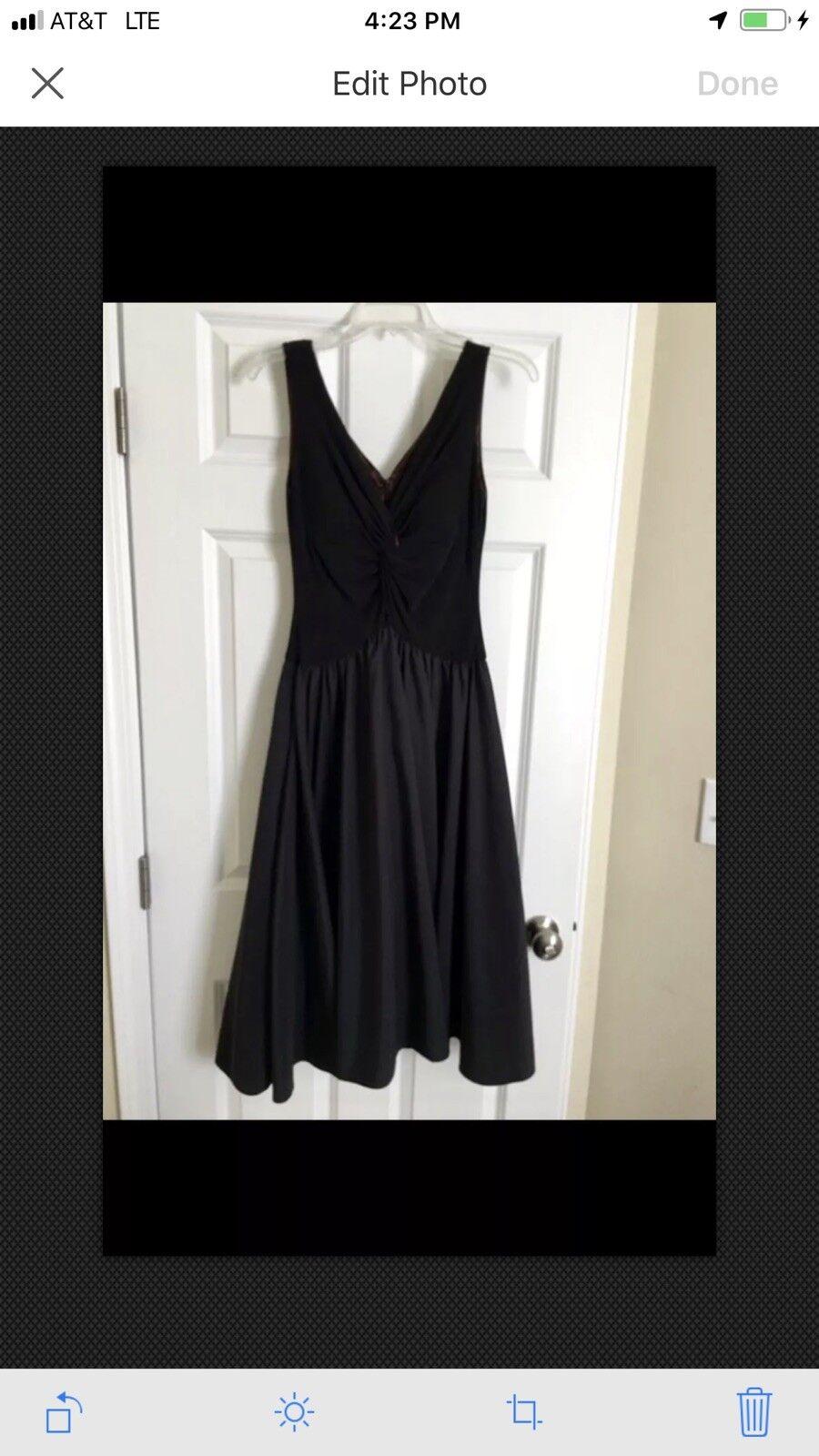Elegant JESSICA HOWARD schwarz Dress Party Evening Cocktail Dressy Größe 6