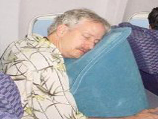 Skyrest Inflatable Ultimate Travel Pillow Brand New Great Gift Ship Fast