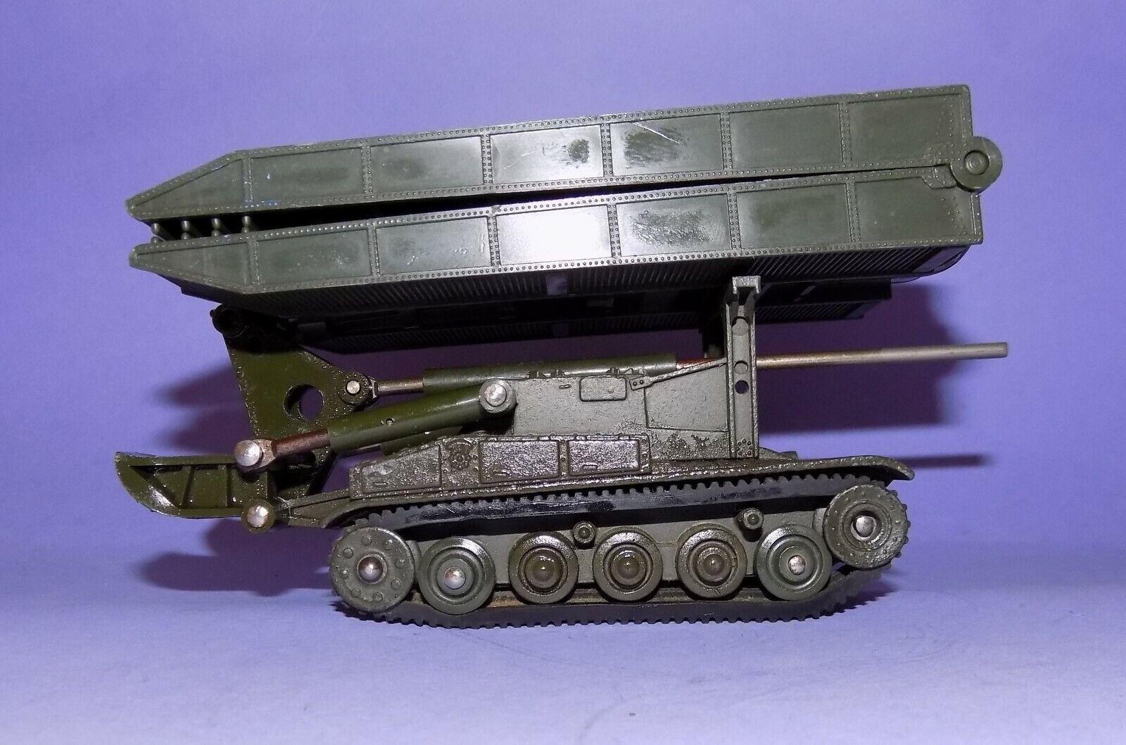 Très Rare Vintage 1964   French Dinky toys  No 833  CHAR AMX Bridge Layer   il y a plus de marques de produits de haute qualité