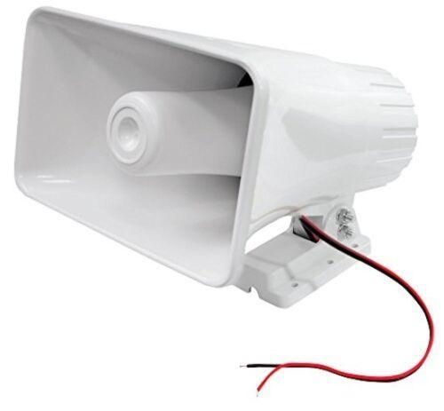 """8/"""" 65W Weatherproof Outdoor Indoor Pa Loud Horn Speaker For Truck Boat Vehicle"""