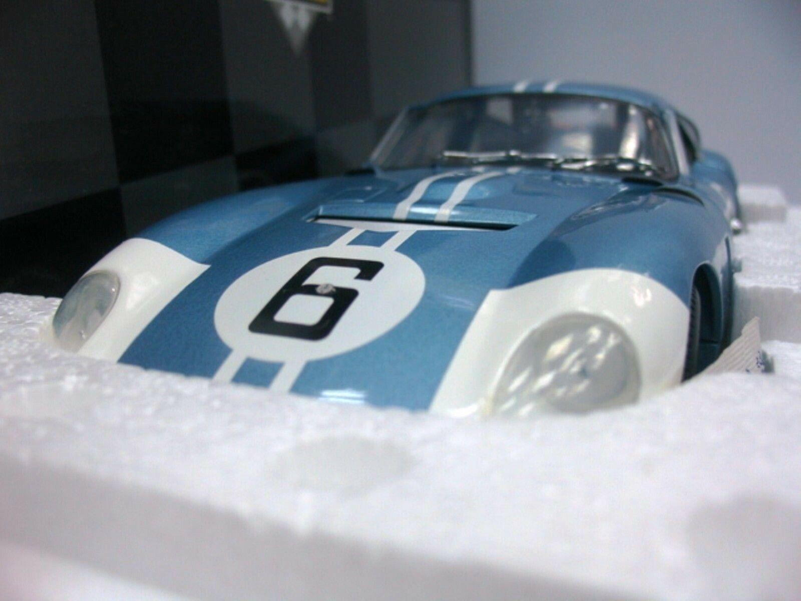 WOW EXTREMELY RARE AC Shelby Cobra Daytona  06 Amon 24h LeMans 1964 1 18 Exoto