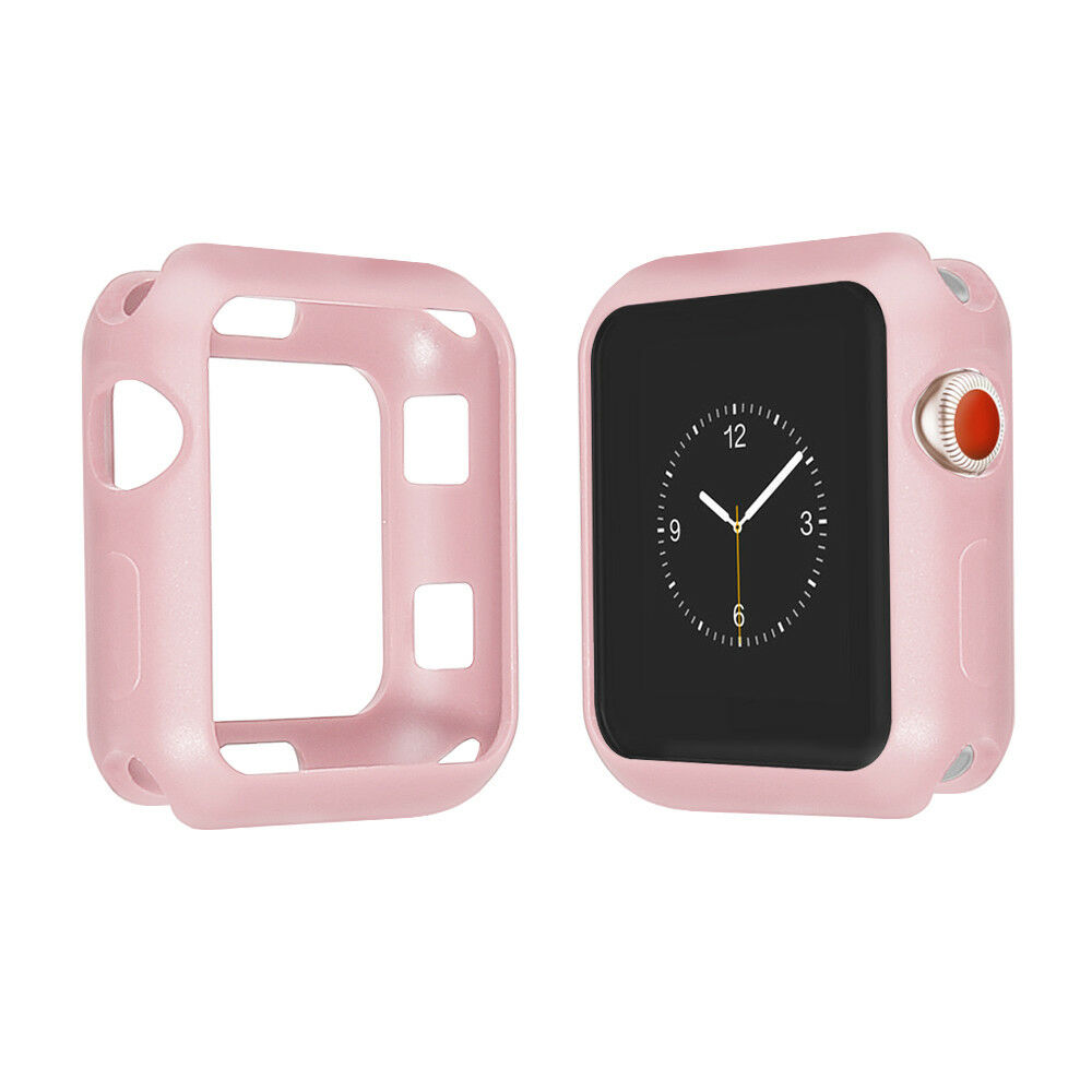timeless design c39af 39c8e Sports Silicone Bracelet Strap Band Case Cover For Apple iWatch 38/42mm  40/44mm