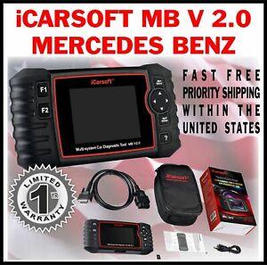 mb v2 0 icarsoft for mercedes benz e series 207 211 diagnostic obd2 code reader ebay. Black Bedroom Furniture Sets. Home Design Ideas