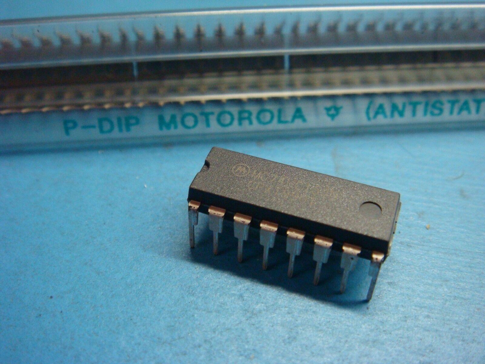 Motorola MC74HC153N 16-pin DIP Multiplexer IC 74hc-10 | eBay