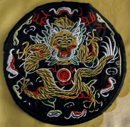 XXL Aufnäher Drache Back Patch Chinese Dragon  Rückenaufnäher 8