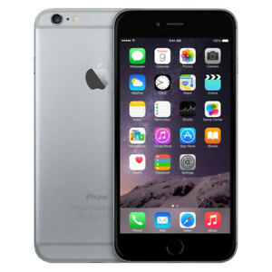 Apple iPhone 6 Plus 64GB Verizon + GSM Unlocked AT&T T-Mobile - Space Gray