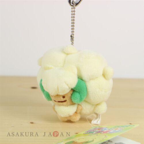 Pokemon Center Original Transform Ditto Whimsicott Plush Mascot Key Chain Japan