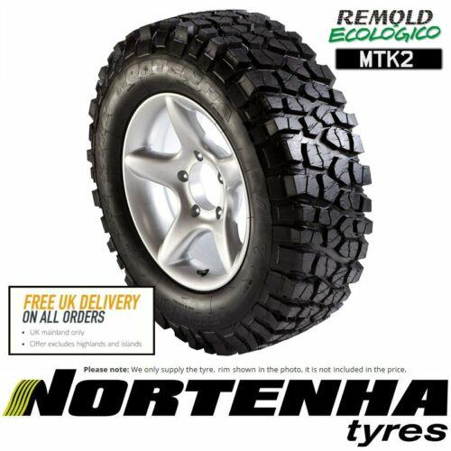 1x 265//70 R17 115Q Nortenha MTK2 Remanufactured SUV Tyre