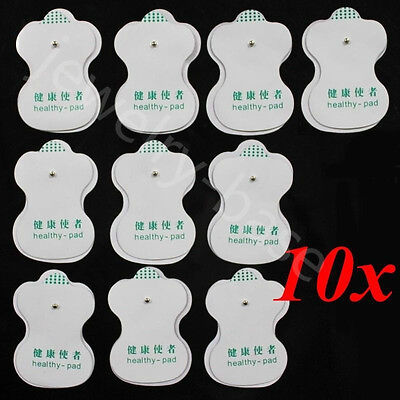 GT 10X Electrode Pads for Tens Acupuncture Digital Therapy Machine Body Massager