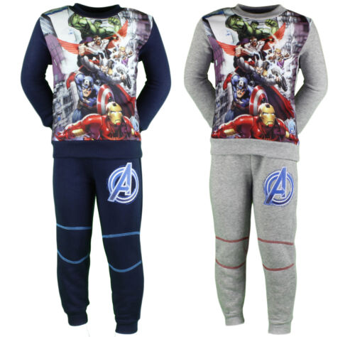 Avengers Tracksuit Boys Official 2-8 Years