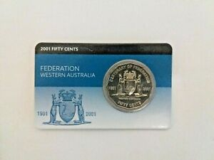 2001-Centenary-of-Federation-West-Australian-50-cents-very-rare-uncirculated