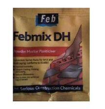 5 x FEBMIX DH POWDERED MORTAR PLASTICIZER / ADDITIVE