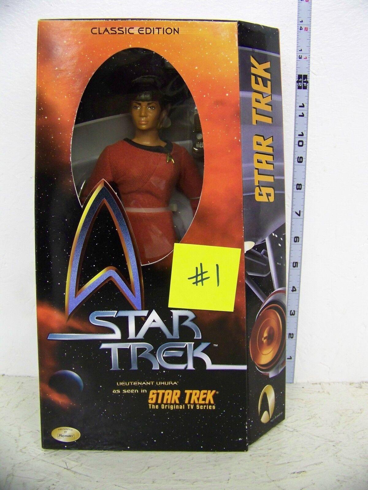 Estrella Trek  Lt. Uhura  figura de 12  En Caja