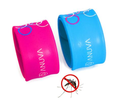 Mosquito Repellent Wrist band Twin Pack Insect Repellent