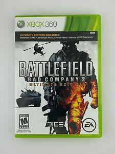 Battlefield: Bad Company 2 - Ultimate Edition (Microsoft Xbox 360) GAME COMPLETE