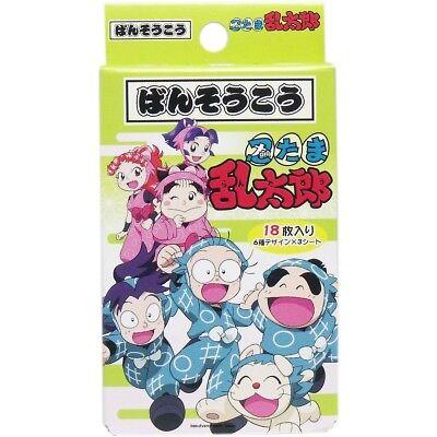 JAPAN SANTAN NINTAMA RANTARO BANDAGE/BAND AID/BANDAID/PLASTER(18pcs)